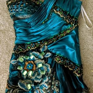 BICICI PEACOCK GOWN